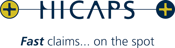 HICAPS Affiliation Logo on Physio Well-th